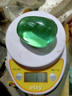 10pcs 98-173gr Mix fist size andara Crystal Monatomic full polished surface.
