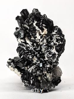148 g Natural Black Tourmaline Night Pocket, Erongo Mountain, Erongo Region, Namibia Active