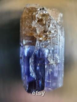 19.75 Carat Rough Tanzanite From the D Mine.