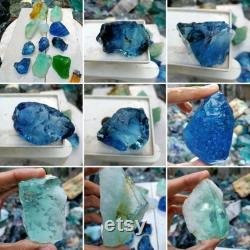 1.6kgs 11pcs(071) The eleventh master combination ultra rare colours of andara Crystal Monatomic natural rough limited