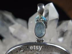 211 Ct. Sparkly Pyrite Galore Included In Quartz Crystal In Sterling Silver C 94