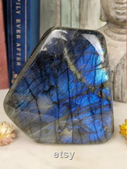 4 Pound Deep Blue Flashy Labradorite Free Form