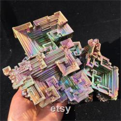 6.31LB Natural Bismuth Ore,Quartz Crystal Specimen,Mineral Specimen,Crystal Tower,Home decoration,For her,For Girlfriend,Reiki Healing Gifts