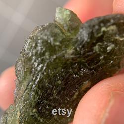 8.2g Moldavite Piece Healing Crystal Chakra Reiki Unique Gift Meditation Stone Housewarming Gift