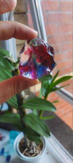 Ascended Rainbow Master Dragon's Breath Fire Andara Crystal