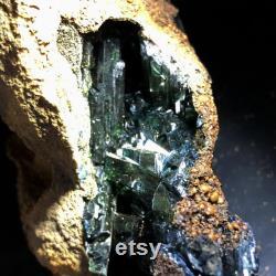 CRYSTAL Natural Complete Vivianite Mineral Specimen A1620