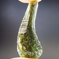 Certified Glossy Moldavite