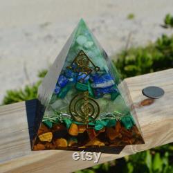 Chakra Pyramid Orgonite Power