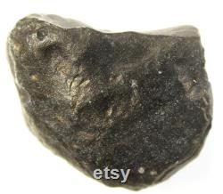 Cintamani legendary mystical stone, 18.11 grams, 32x24x17 mm, gray-black, partially translucent, against the light is striped