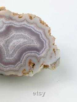 Gorgeous rare mexican agate specimen Ojo Laguna Agate from the Vacuna Deposit Beautiful mexican agate Rare agate Crystal gift