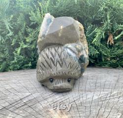 Hedgehog Amethyst Cluster