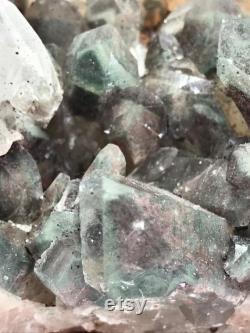 Himalayan Chlorite Quartz Large Cluster