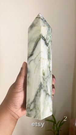 Jade tower, jade point, green jade tower, green jade point