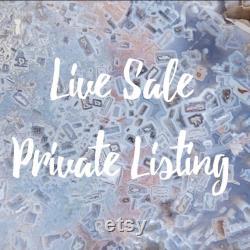 LIVE SALE Private Listing caveofmysticwonder