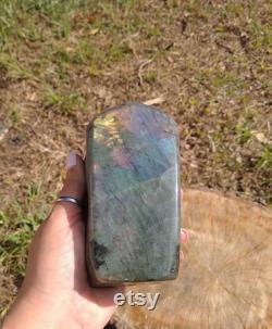 Labradorite Free Form RainbowithHealing Throat Chakra