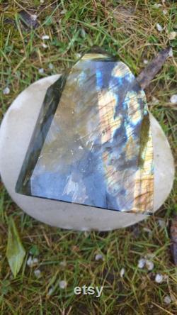 Labradorite Large Labradorite Stone Freeform Blue Labradorite Labradorite Free Form Labradorite Freestanding Lab Free Form