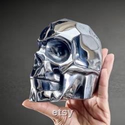 Large Faceted Terahertz Skull, Terahertz Crystal Skull, THz Skull, Terahertz Stone, THz Stone, Stone Skull, Health Power Stone