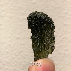 Moldavite, Genuine Raw Green Tektite