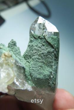 Natural Pure Quality Quartz With Chlorite Ganesh Himalaya Nepal Y 91