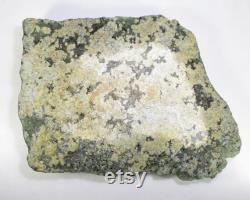 Natural Unique Designer Prehnite Specimen Raw Rough Healing mineral Decorative Stone Prehnite Rough Gemstone Rare Green Prehnite Rough 1834
