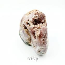 Pink Amethyst Free Form Geode Polished 1.2kg 2.6lbs