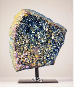 Rainbow Titanium, Rainbow Titanium Crystal, Rainbow Titanium Cluster, Rainbow Crystal