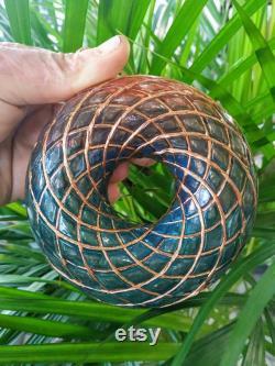 Rodin coil scalar toroidal vortex wave generator