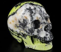 Skull Hiso Jasper Crystal Realistic