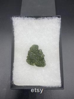 You Choose RARE Genuine RAW Moldavite 5.30-5.39g from Czech Republic